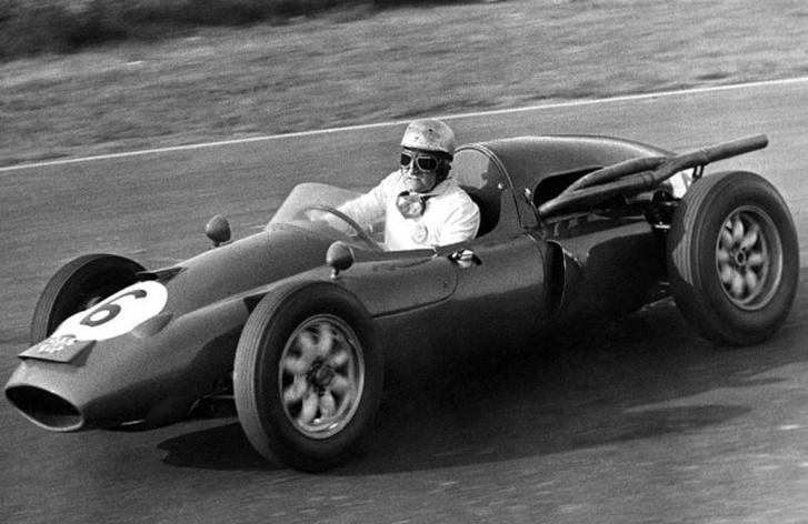 Cabianca 1961-ben egy Cooper T51- Ferrariban