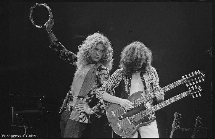 Robert Plant és Jimmy Page