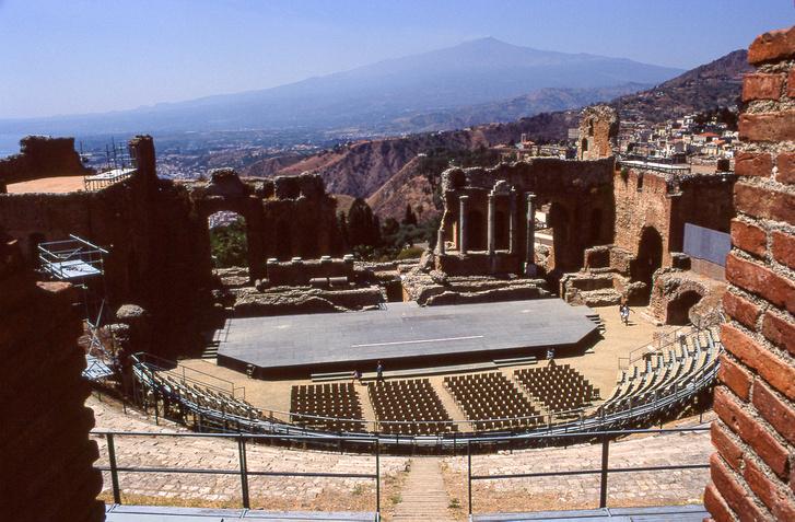 Taorminai görög színház, ami oly csodás