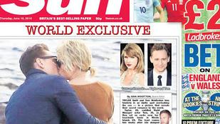 Csókolózós fotó buktatta le Taylor Swiftet és Tom Hiddlestont