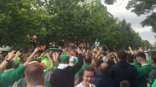 Az ír szurkolók se normálisak, de legalább szórakoztatótak