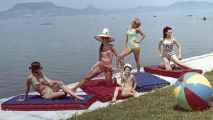 Bikiniben és meztelenül is fürödtek a Balatonban a rendszerváltásig