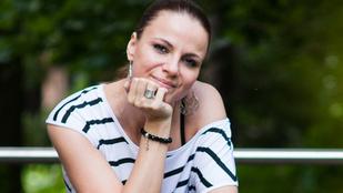 Megszületett Péter Szabó Szilvia kislánya