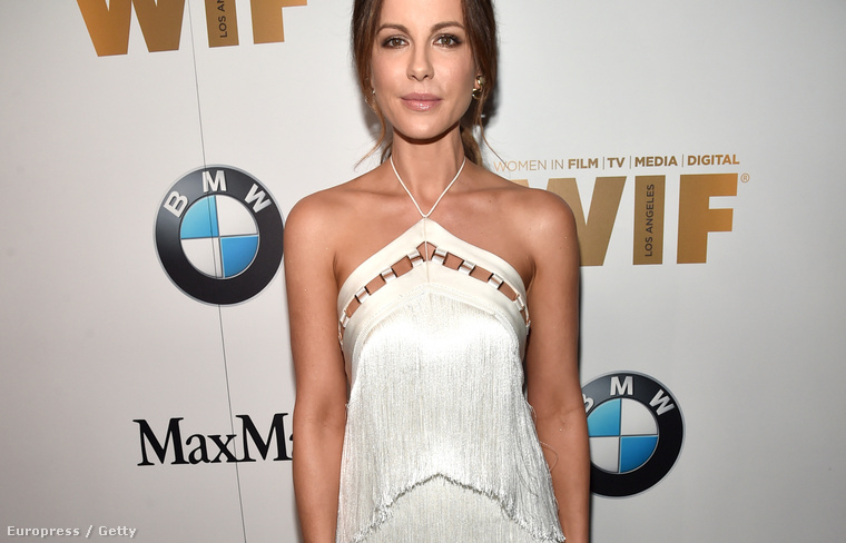 Kate Beckinsale színésznő a Women In Film díjkiosztón