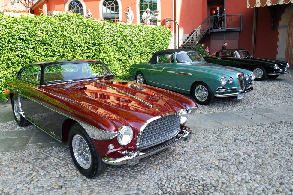 Három csodálatos autó, amely bármilyen más szépségversenyen esélyes lenne, itt azonban csak a futottak még kategóriát erősítette: Vignale-karosszériás, egyedi Ferrari 250 Europa (1953), Lancia Aurelia B52 Convertible (1953, szintén Vignale-felépítmény) és Ferrari 250 GT (1956, Boano-karosszéria)