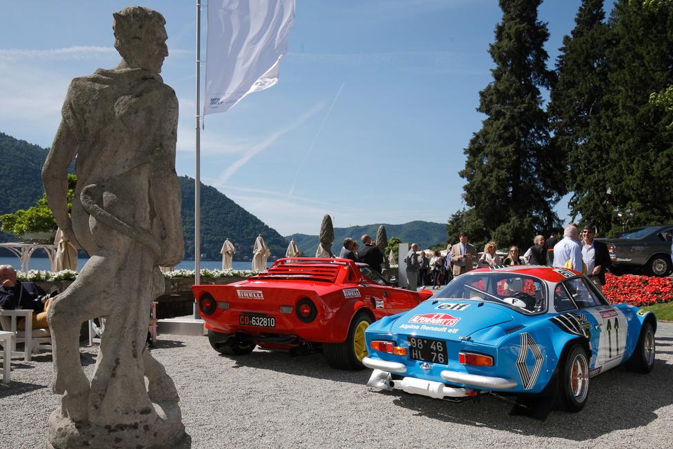A versenypályák hősei is bemutatkozhatnak az elegánsabb kocsik között, idén külön ralis kategória is volt, hat remek géppel. A Lancia Stratos örök ikon, nem véletlenül nyerte el a 16 év alatti közönség díját. Az Alpine A110 pedig megnyerte a legelső rali-világbajnokságot – ez az autó az akkori, 1973-as gyári csapat tagja volt
