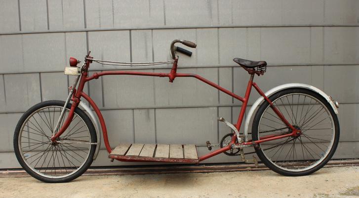Teherkerékpár az ősidőkből