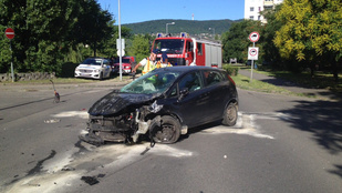 Súlyos motoros baleset történt Óbudán