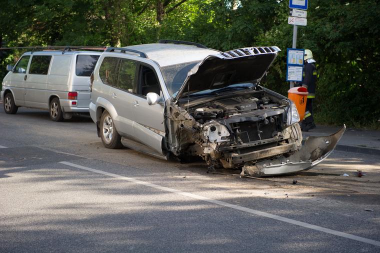 Hűvösvölgyi út baleset 3