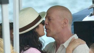 Bruce Willis új feleségével való kapcsolatáról beszélt