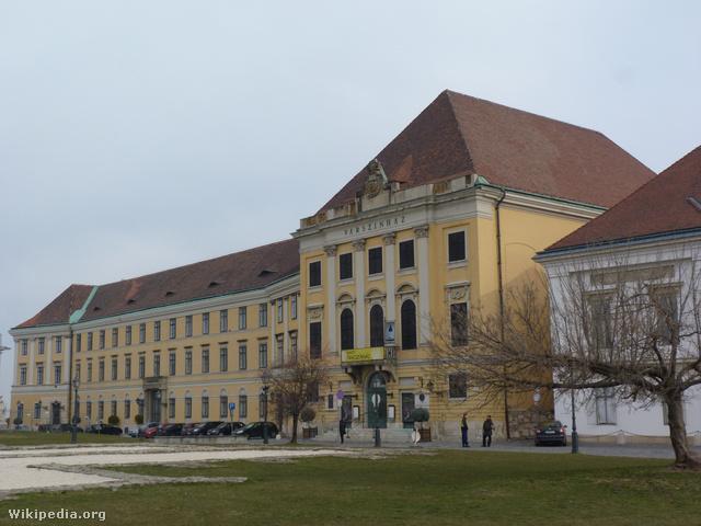 """A Nemzeti Táncszínház korábbi """"otthona"""", a Karmelita Kolostor"""