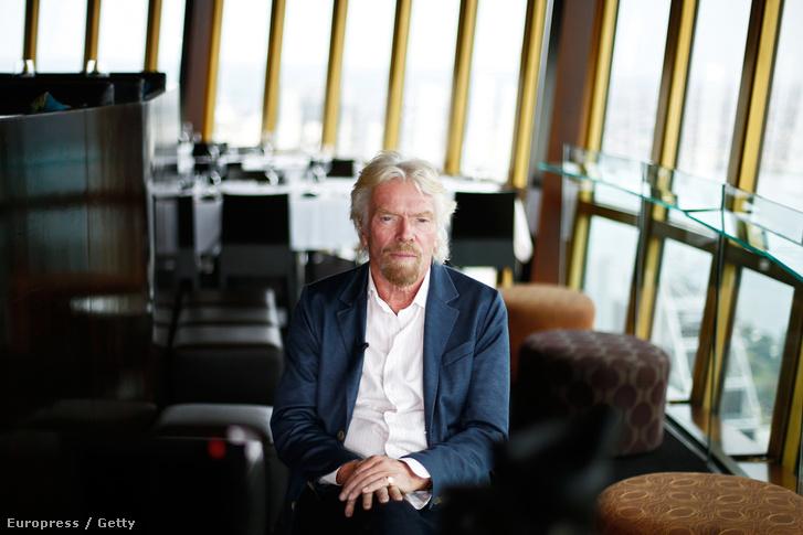 Virgin Group vezetője, Sir Richard Branson