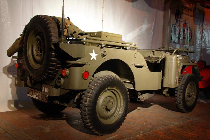 A Willys Jeep mindent tudott, amit egy Harley WLA nem - készült is belőle vagy 650 ezer darab