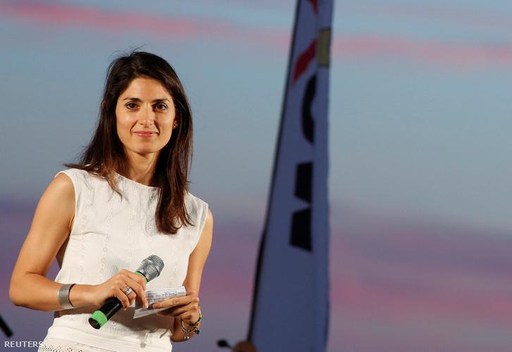 Virginia Raggi, Róma új főpolgármestere.