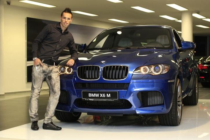 Marek Hamsik (Szlovákia) - BMW X6 M