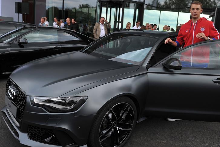 Manuel Neuer (Németország) - Audi RS6