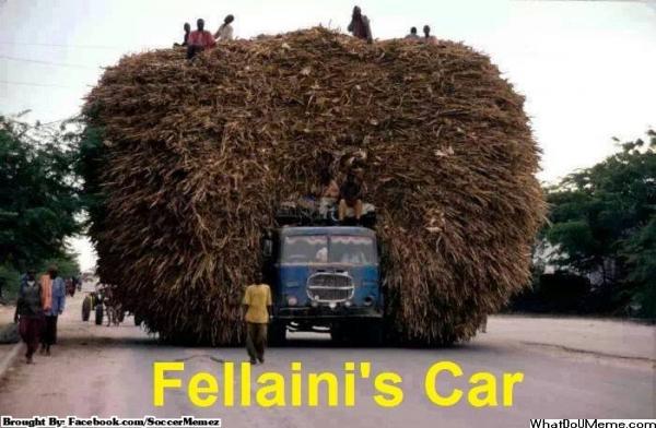 Marouane Fellaini (Belgium) - ez persze csak vicc