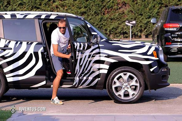 Giorgio Chiellini (Olszország) - Jeep Renegade
