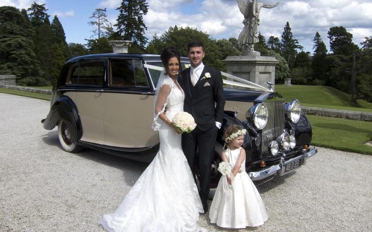 Shane Long (Írország) - Rolls-Royce 1948-ból (legalábbis az esküvőn)