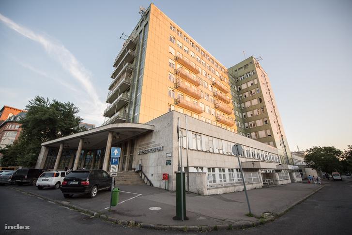 Az Országos Baleseti és Sürgősségi Intézet épülete a Fiumei úton