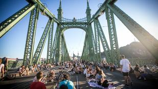 A legjobb és legrosszabb dolog egyben: a lezárt Szabadság híd