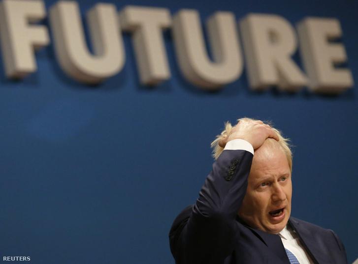 Boris Johnson volt londoni polgármester