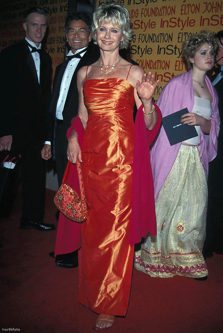 Olivia Newton-John és Patrick McDermott 2000-ben