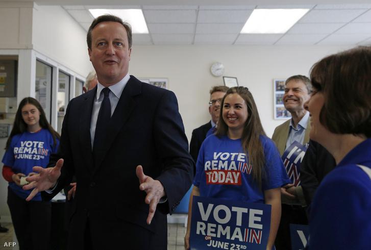 Cameron a bentmaradásért kampányol