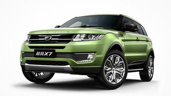 Csoda: a Land Rover klón-pert nyert Kínában