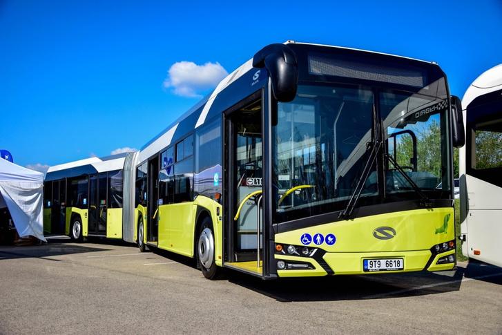 Az új Solaris Urbino. Budapestre még az előző generáció érkezhet