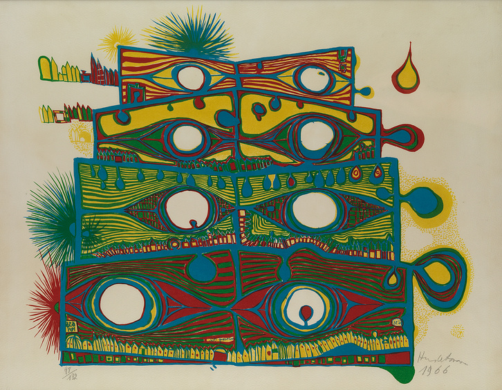 Hundertwasser: Die Augen