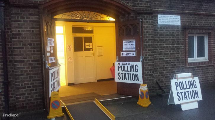 Szavazóhely New Maldenben
