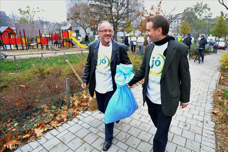 Komássy Ákos Szabó Imre környezetvédelmi miniszterrel kampányolt