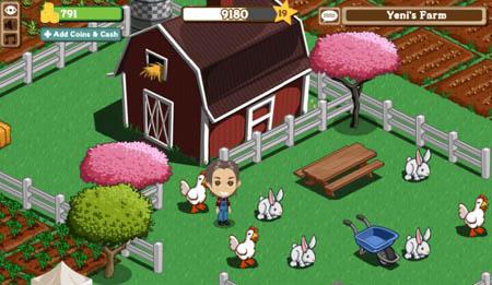 Ez a Farmville, 60 millió játékossal ma az internet legnépszerűbb játéka