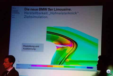 A Hofmeisterknick standard acélból készítve nem bírta volna a terhelést, ezért...