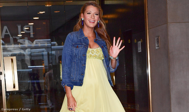 HÉTFŐ: Blake Lively a The Today Show-ban