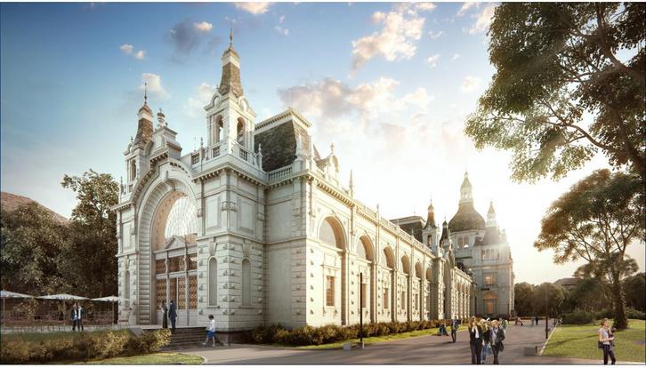 Ilyen lesz a felújított múzeum