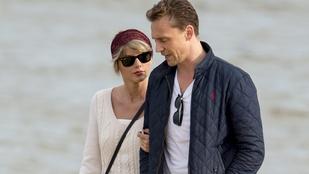 Gyanúsan közeli képek készülnek Swiftről és Hiddlestonról