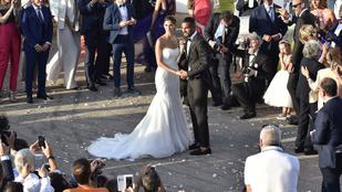 Ilyen álomesküvője önnek is lehet, ha focistafeleség lesz