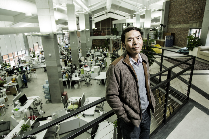 Allen Zhang a WeChat vezetője és a Tencent alelnöke