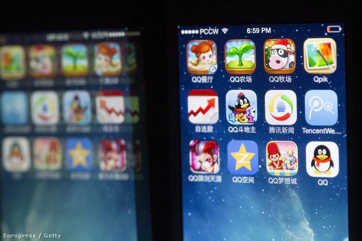 A Tencent legnépszerűbb kínai alkalmazásai
