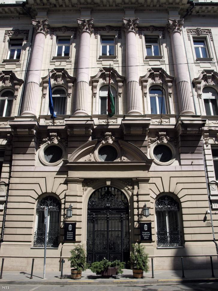 A Szellemi Tulajdon Nemzeti Hivatalának volt székháza a Garibaldi utcában