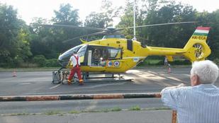 Csúnya motoros baleset történt Szentendrén