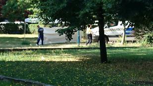 Egy idős férfi holttestére bukkantak egy XIV. kerületi játszótéren