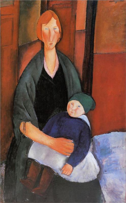 Modigliani: Anyaság