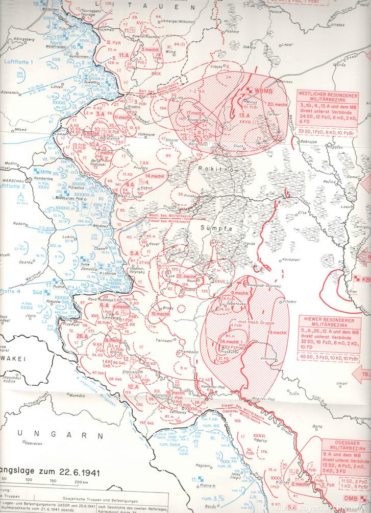 A szovjet háborús tervek előkészülete.