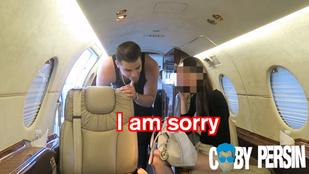 Szívatás: percek alatt dobta a barátját egy magánrepülős pasiért