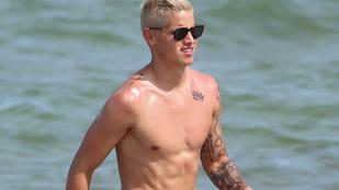 A Realban futballozik, most Miamiban strandol