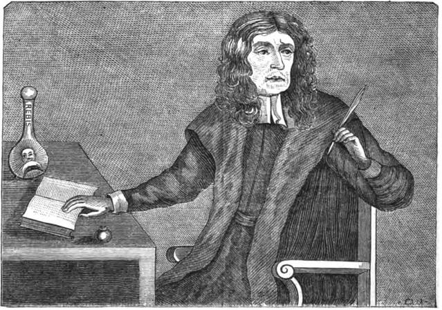 Dr. Garencières, Nostradamus fordítója (Robert Chambers, 1832)