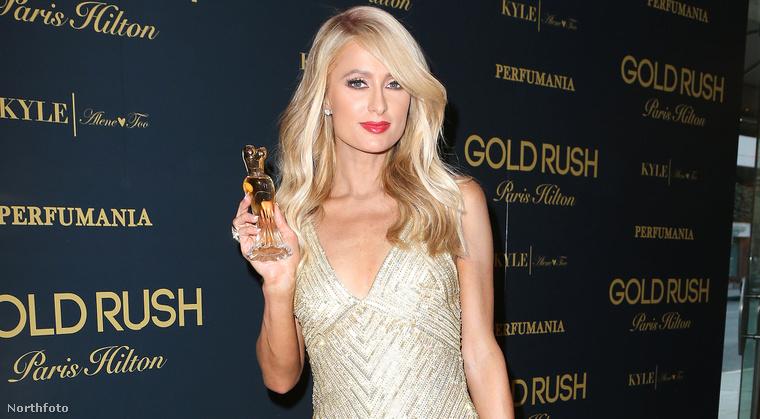 Paris Hilton: új parfümjét mutatta be szerdán Los Angelesben
